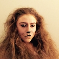 13 Days of Halloween Makeup - Lion