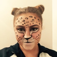 13 Days of Halloween Makeup-Leopard