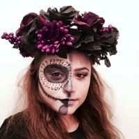 13 Days of Halloween Makeup- Sugar Skull