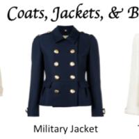 Timeless Capsule Wardrobe- Coats, Jackets, & Blazers