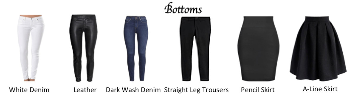 Timeless Capsule Wardrobe: Bottoms