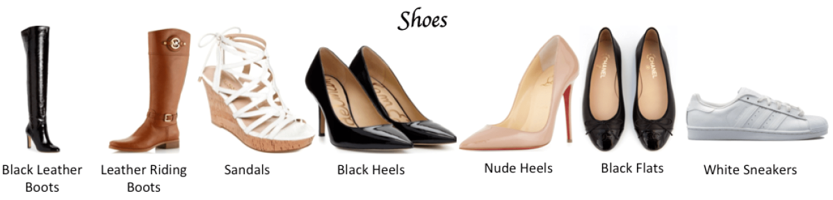 Timeless Capsule Wardrobe: Shoes