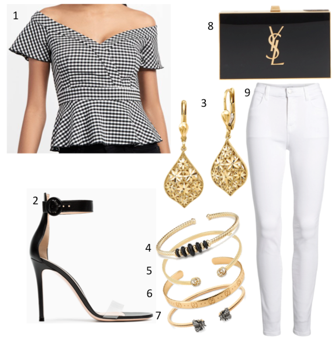 Inspiration Tuesday: Black x Gold