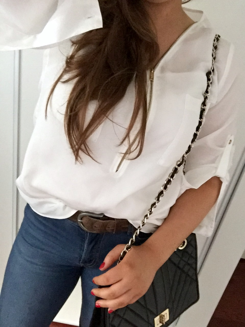 OOTD: Zipper Collar