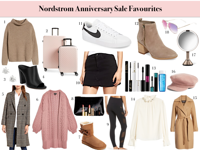nordstrom anniversary sale favourites
