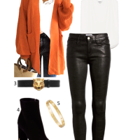 Inspiration Tuesday: Autumnal Orange