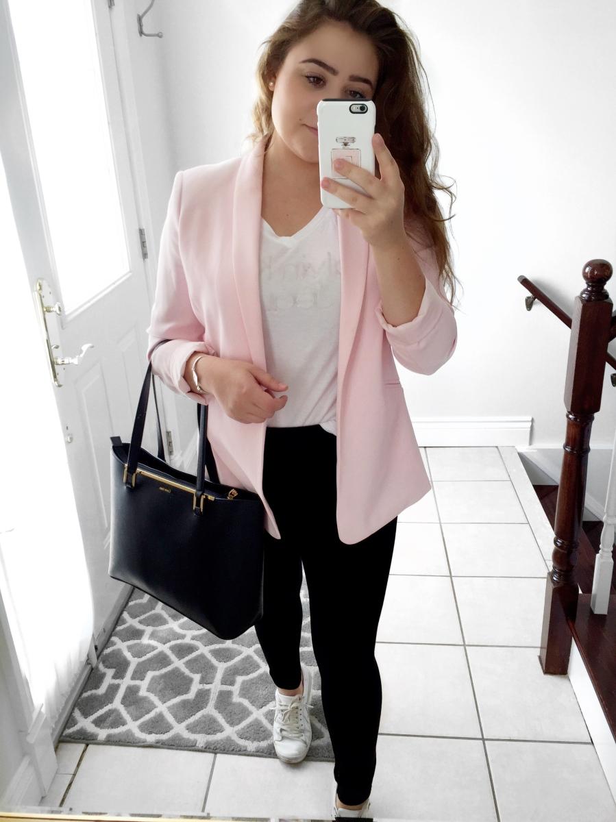 OOTD: Pink Blazer
