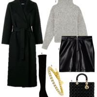 Inspiration Tuesday: Autumnal Grey & Black