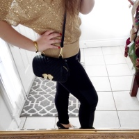 OOTD: Gold Glamour