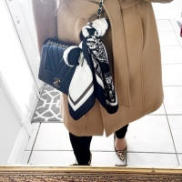 OOTD: Black and Camel Luxe