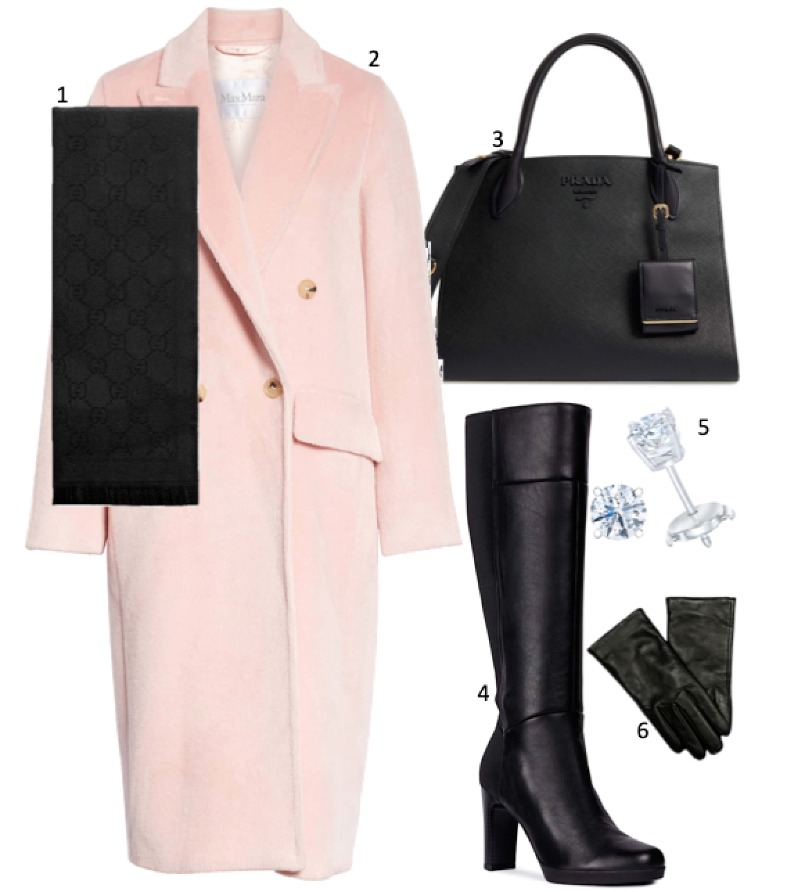 inspiration tuesday: winter pink