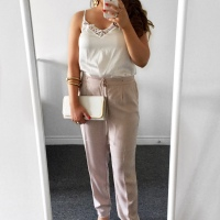 OOTD: Pale Taupe